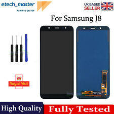For Samsung Galaxy J8 2018 J810F LCD Touch Screen Digitizer Replacement Black UK