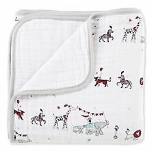 """Aden Anais baby double layers Classic Dream Blanket, Vintage Circus 47""""*47"""""""