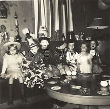Org Vintage 1949 Halloween Party RP- Costumes- Clown- Chinaman- Soldier- Cowgirl