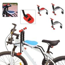 Bicicleta Assento Dianteiro Bebê Crianças Cadeira Assento Almofada Macia para Mountain Bike Uk