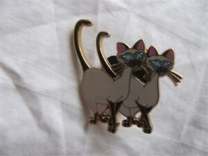 Disney Trading Pins  35662 Si and Am (Lady and the Tramp)
