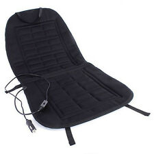 12V Car Front Seat Hot Cover Heater Heated Pad Cushion Warmer Winter Black O8C4