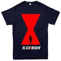 Black Widow T-shirt, 2020 Superhero Film, Marvel Comics Partywear Gift Top