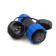 2Pin Waterproof Connector SD20 IP67 Power Plug 25A 250V Power Cable Connector