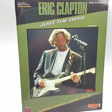 Eric Clapton Just the Riffs Music Book Guitar Score Cherry Lane Dale Turner