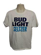 Bud Light Seltzer Adult Large White Tshirt