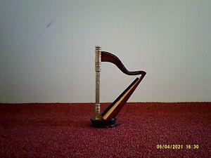 Harfe _ Holz _ 17x12 cm