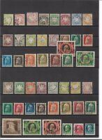 Bayern 1870 - 1920, Sammlungen aus Michelnrn.: 22 - 195 + Dienst o, gestempelt o