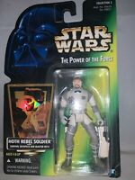 "1996 Hasbro Star Wars Power Of The Force Hoth Rebel Soldier 4"" Figure-NRFP"