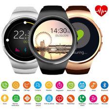 Women Men Girls Luxury Bluetooth Smart Watch Phone Fitness Tracker for iphone LG