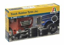 3889 Truck Rubber Tires (8x) ITALERI 1:24 plastic model kit