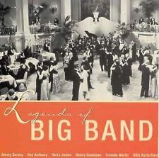 Legends of Big Band [Sugo] by Various Artists (CD, Feb-1999, Sugo)