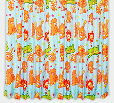 """MOSHI MONSTERS KIDS CHILDRENS CURTAINS 66""""x72"""" DROP BOYS GIRLS CHARACTER BEDROOM"""