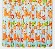 Moshi Monsters infantil cortinas 168cmx183cm largo Niños Niña personaje