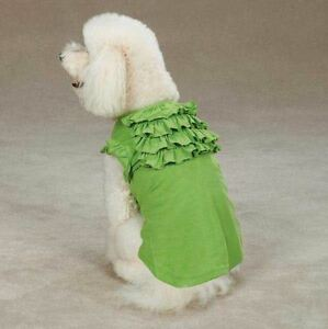 Tiered Ruffle T-Shirt Pet Tee Shirt and/or Peace Out Skirt Separates Ruffled