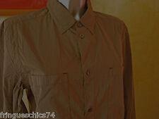 luxueuse chemise kaki homme HIGH USE T 44 ou M NEUVE ETIQUETTE