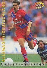 A16 ZIEGE BAYERN MUNCHEN DEUTSCHLAND CARTE PANINI FOOTBALL 95 FRANCE CARDS 1995