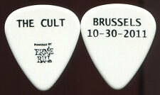 The Cult 2011 Weapon Tour Guitar Pick! custom concert stage Pick Brussels