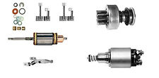 MONARK SET per vintage Bosch Starter / Starter - Ancora,Solenoide,Ruota libera