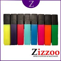 HIGHLIGHTER PENS HIGH LIGHTER PEN PACKS IN VARIOUS COLOURS AND QUANTITIES