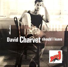 David Charvet CD Single Should I Leave - Europe (VG+/EX+)