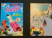 FLASH 199 VF+ 206 VF 1ST APPEARANCE COLONEL K DC COMICS SILVER GUIDE $85