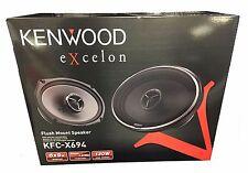 """Kenwood eXcelon KFC-X694 2 Way 6x9"""" 130W RMS Car Speakers New KFCX694"""