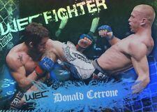 2010 TOPPS MAIN UFC EVENT ROOKIE RC DEBUT WEC DONALD COWBOY CERRONE #147