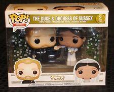Funko Pop! Royals The Duke & Duchess Of Sussex Vinyl Figure Set