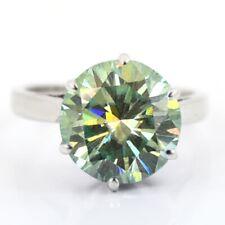 5.80Ct Certified Greenish Blue Diamond Engagement Ring,Anniversary Gift !