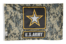 3x5FT Flag Camo United States Army Star Military USA Camouflage Banner Pennant