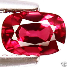 0.87ct WOW HUGE RARE 100% NATURAL UNHEATED BEST 5A+ RED SPINEL AWESOME GEMSTONE!