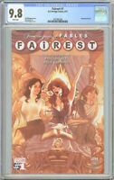 Fairest #1 CGC 9.8 White Pages 2097882004 Adam Hughes Cover
