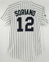 New York Yankees Majestic Jersey Alfonso Soriano # 12. Size Medium Made In USA