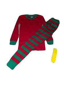NWT ARB blanks GREEN/RED PAJAMAS sz 8 Long sleeve
