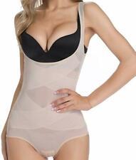 Women Shapewear Bodysuit Seamless Tummy Control Full Body Shaper Underbust Faja