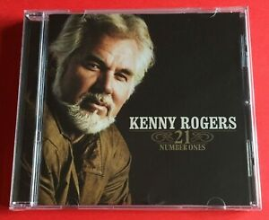 Kenny Rogers 21 Number Ones CD Brand New And Sealed Free Post