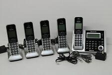 Panasonic Kx-Tgf370 Digital Cordless Phone Answering System 5 Handsets Bluetooth