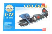 SMER Modellbau Kunststoff Modellbausatz Militär 1:72 Flugzeug I 153 Chaika