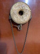 Vintage Rare German Art Ornate Decorative Gun Powder Flask/Canteen