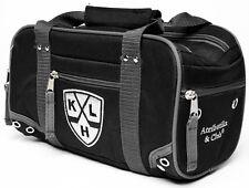 KHL Travel Toiletry Hockey Bag Shaving Dopp Kit, durable polyester, black