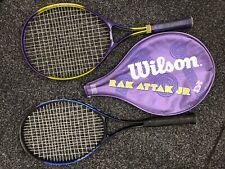 zwei Tennisschläger für Kinder