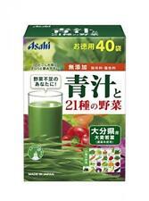 Asahi AOJIRU & 21 Vegetables 40 x 3.3g Sachets From Japan