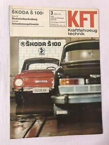 Kraftfahrzeugtechnik KFT 03/1970 Skoda Š100 Ford Maverick DDR Weihnacht Geschenk