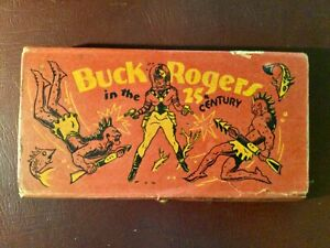BUCK ROGERS VINTAGE 1930's ORIGINAL PENCIL BOX