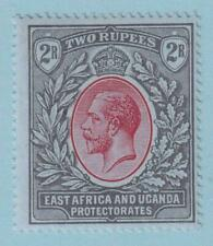 East Africa And Uganda Protectorates 50 Mint Hinged Og * No Faults Extra Fine!