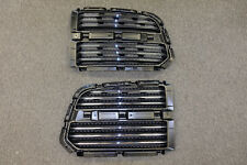 NEW DODGE RAM 1500 Horizonta Black & Chrome Grille Inserts
