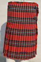 Scottish McGregor Tartan Pleated to Stripes Highland Traditional Hamstead Kilts