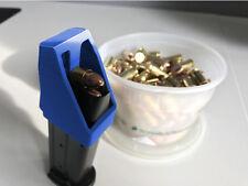 Beretta M9 92 9mm Speed loader / Thumb saver / Magazine Loader Blue