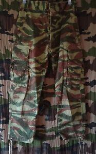 Pantalon Parachutiste TAP 47/56 Indochine Algérie Kolwezi Camouflage Lézard